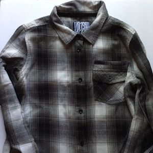 Volcom Long Sleeve Plaid Shirt